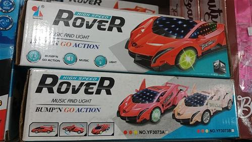 High speed Rover car