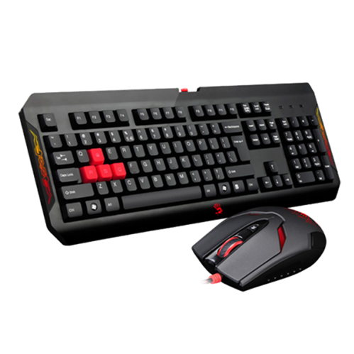 A4 TECH Q1100 Gaming Keyboard & Mouse