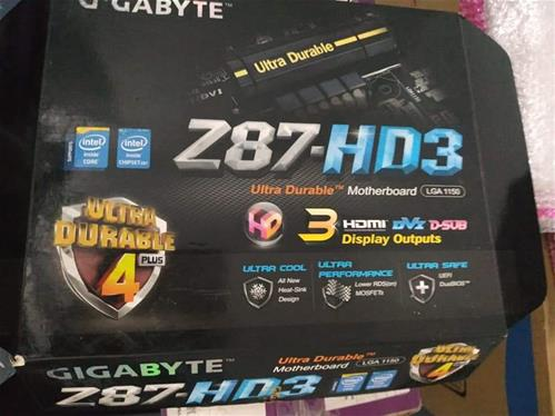 Core i5 4670K Processor + Gigabyte Z87 - HD3 Motherboard Combo Pack