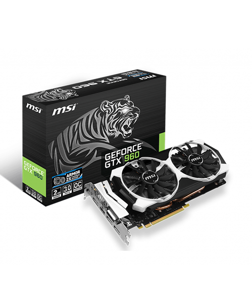 MSI GTX 960 2gb VGA (used)