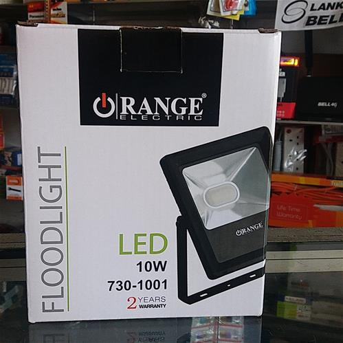 ORANGE 10W LED Flood Light