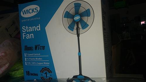 Wicks Stand Fan