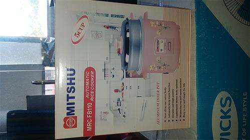 Mitshu rice cooker 1L