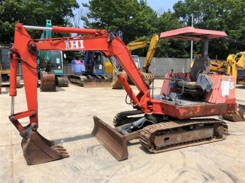 IHI IS-35G MINI EXCAVATOR